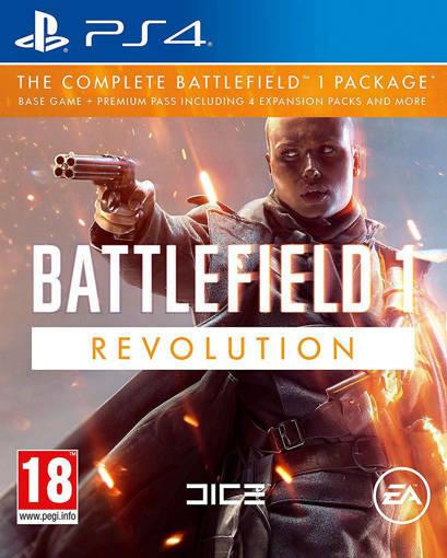 Игра Battlefield 1 Revolution  за PS4