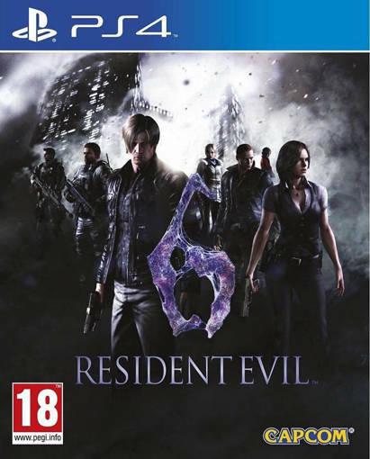 Игра Resident Evil 6 за PS4