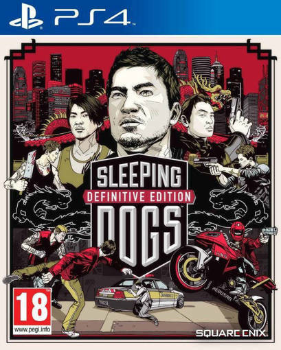 Игра Sleeping Dogs: Definitive Edition за PS4