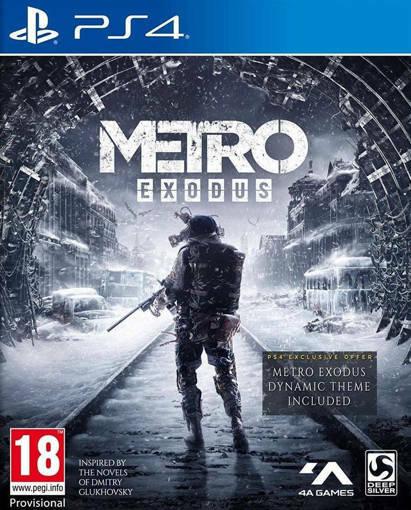 Игра Metro: Exodus за PS4