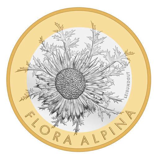 """Монета """"Флора Алпина"""""""