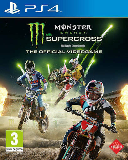 Игра Monster Energy Supercross - The Official Videogame за PS4