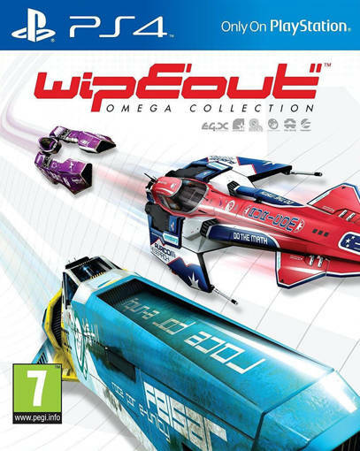 Игра WipEout Omega Collection за PS4