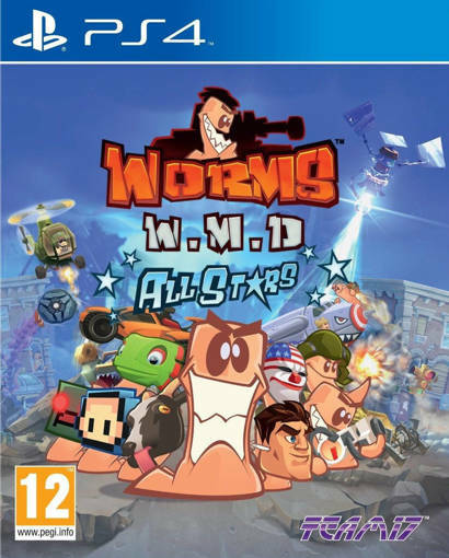 Игра Worms: Weapons of Mass Destruction за PS4