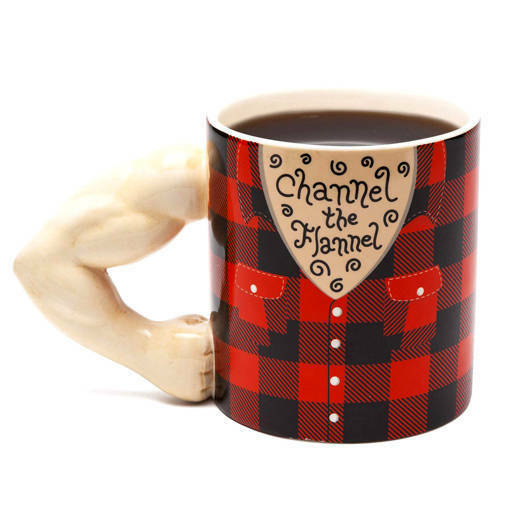 Голяма керамична чаша Channel the Flannel