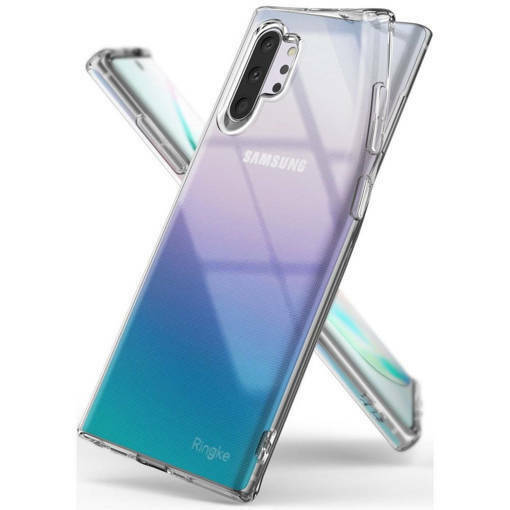 Противоударен силиконов кейс - RINGKE Air за SAMSUNG GALAXY NOTE 10 Plus