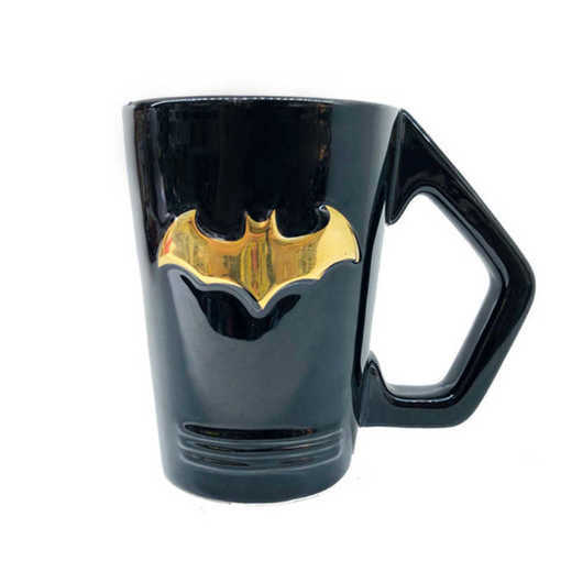 Черна керамична чаша БАТМАН