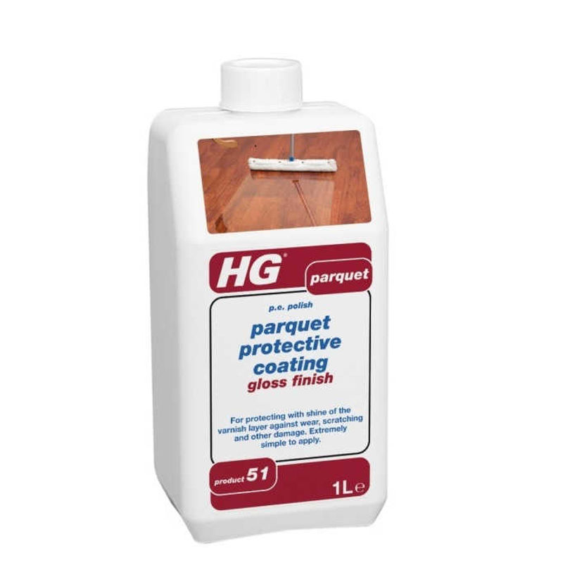 HG 200 Защитно Гланцово Покритие за Лакиран Паркет 1 л