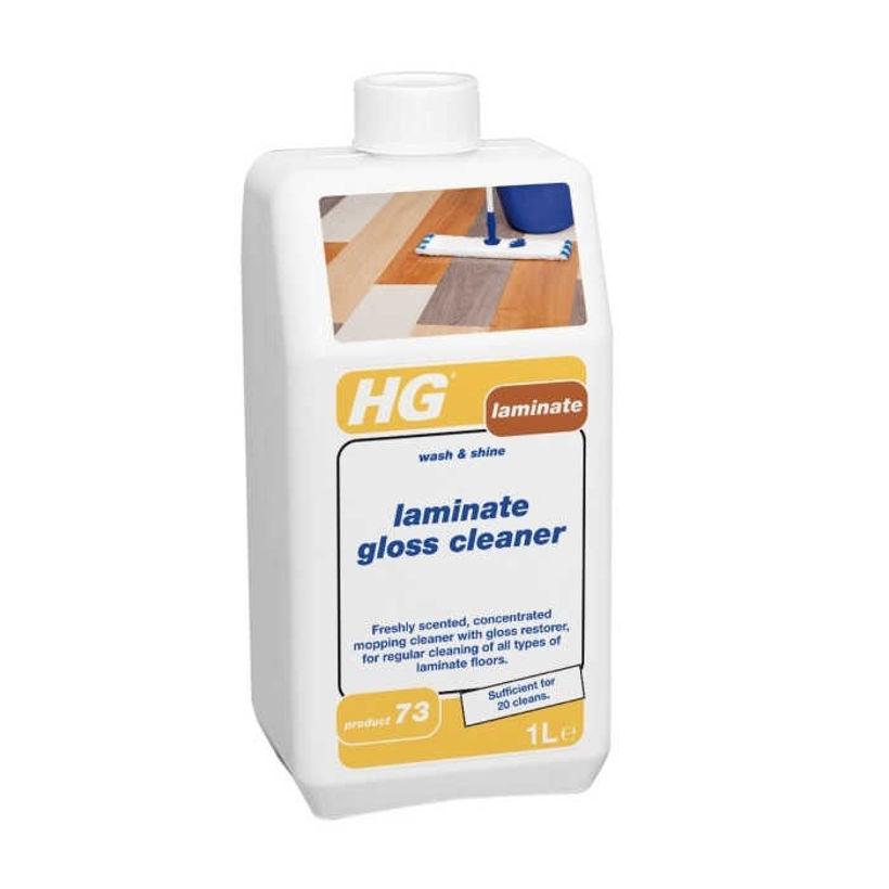 HG 464 за Ежедневно Почистване на Ламинат с Блясък 1 л