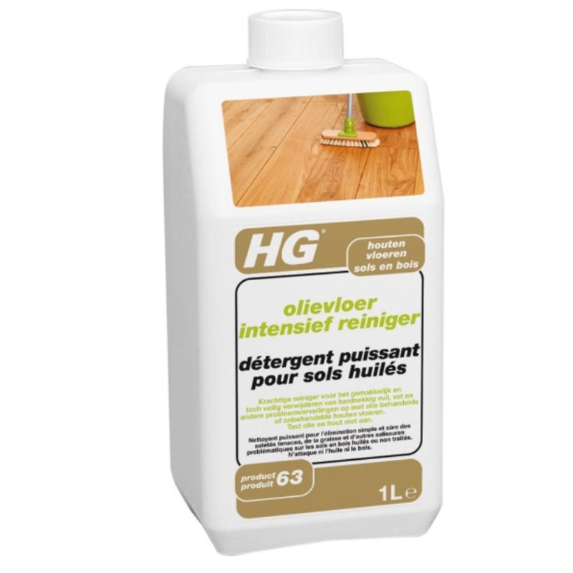 HG 453 за Дълбоко Почистване на Дървени Подове с Натурално Масло 1 л