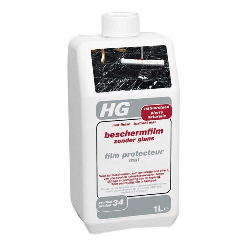 HG 338 Защитно Матово Покритие за Естествен Камък 1л