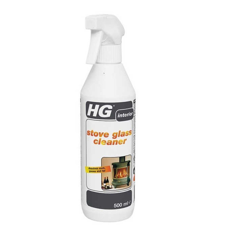 HG 431 Спрей за Почистване Стъкла на Камини и Печки 500 мл