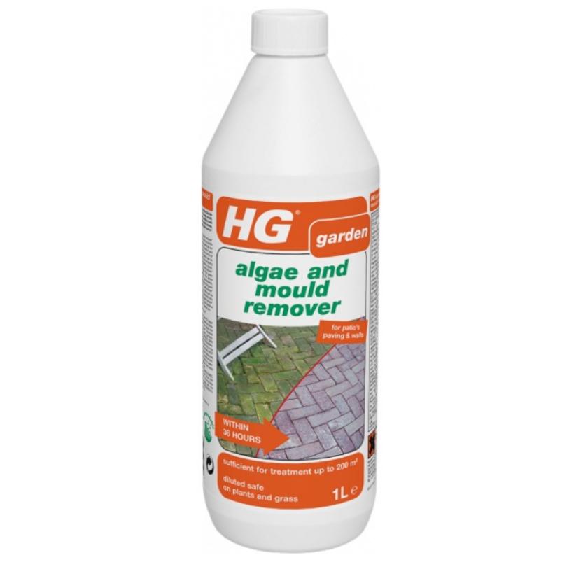 HG 181 Отстраняване на Позеленяване и Плесен от Плочки 1 л
