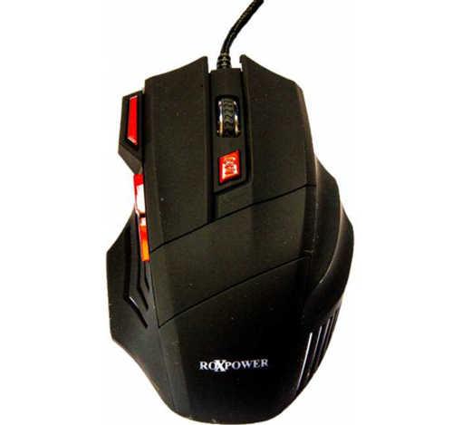 Оптична геймърска мишка M163X светеща USB DPI=3200
