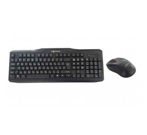 Комплект WT-81 мултимедийна безжична клавиатура с кирилица и безжична мишка USB