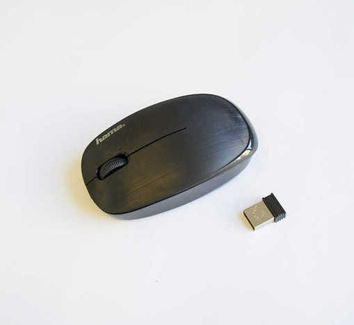 Оптична безжична мишка HAMA черна USB DPI=1200