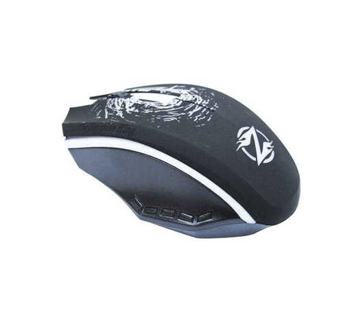 Оптична геймърска мишка XG-73 светеща USB DPI=1200