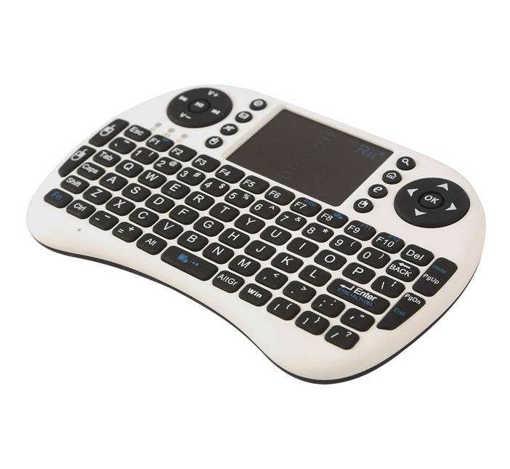Безжична клавиатура мини KD-I8 с тъч пад за лаптоп, телевизор