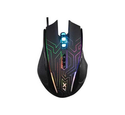 Оптична геймърска мишка X87 светеща USB DPI=2400