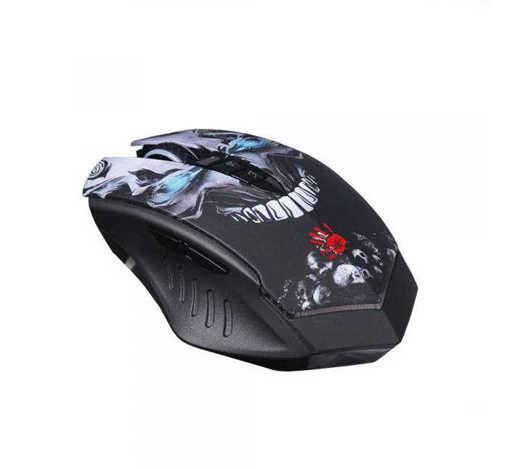 Оптична геймърска безжична мишка R80 USB DPI=4000