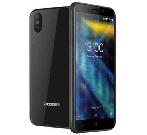 Смартфон DOOGEE X50, Dual SIM, 1GB RAM, 8GB ROM, черен