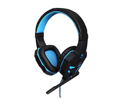 Слушалки геймърски PRIME стерео кожени с микрофон 116dB