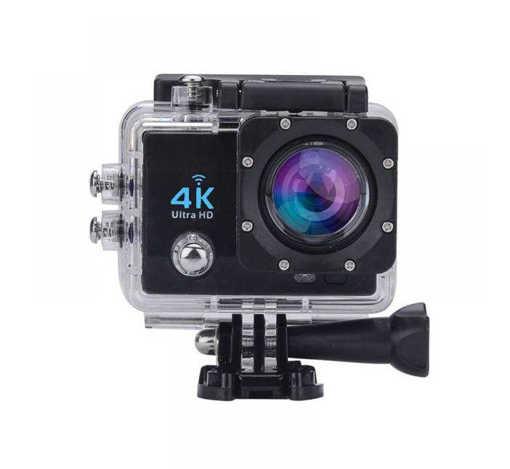 Спортна екшън камера ULTRA HD 4K, Wi-Fi, записваща, екран 2''; 16MPx