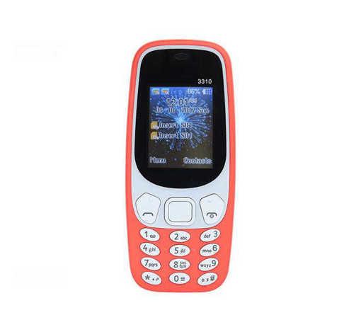 Мобилен телефон 3310 RAM/ROM 35MB с 2 сим карти