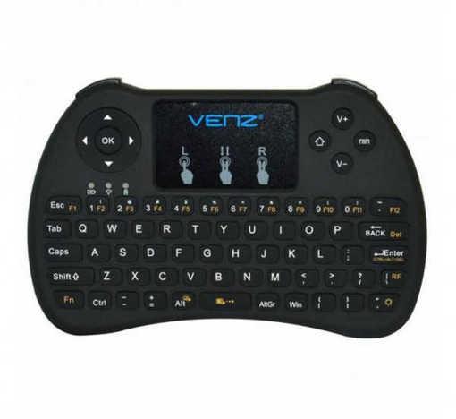 Безжична клавиатура мини VZ-KB-4 с тъч пад за лаптоп, телевизор
