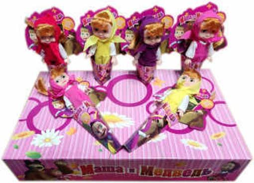 Комплект кукли Маша и Мечока четири различни цвята
