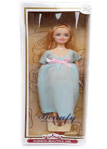 Детска играчка Кукла бременна с три варианта на рокли