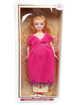 Детска играчка Кукла бременна с три варианта на рокли, снимка 3