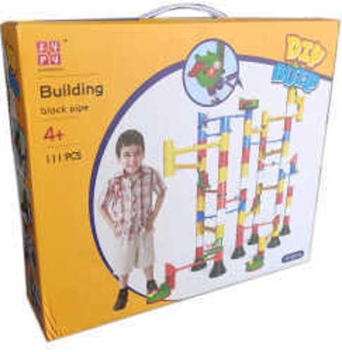 Детски конструктор игра Писта с топчета със 111 части