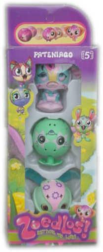 Детска играчка Зубълс Zoobles 3 броя в кутия