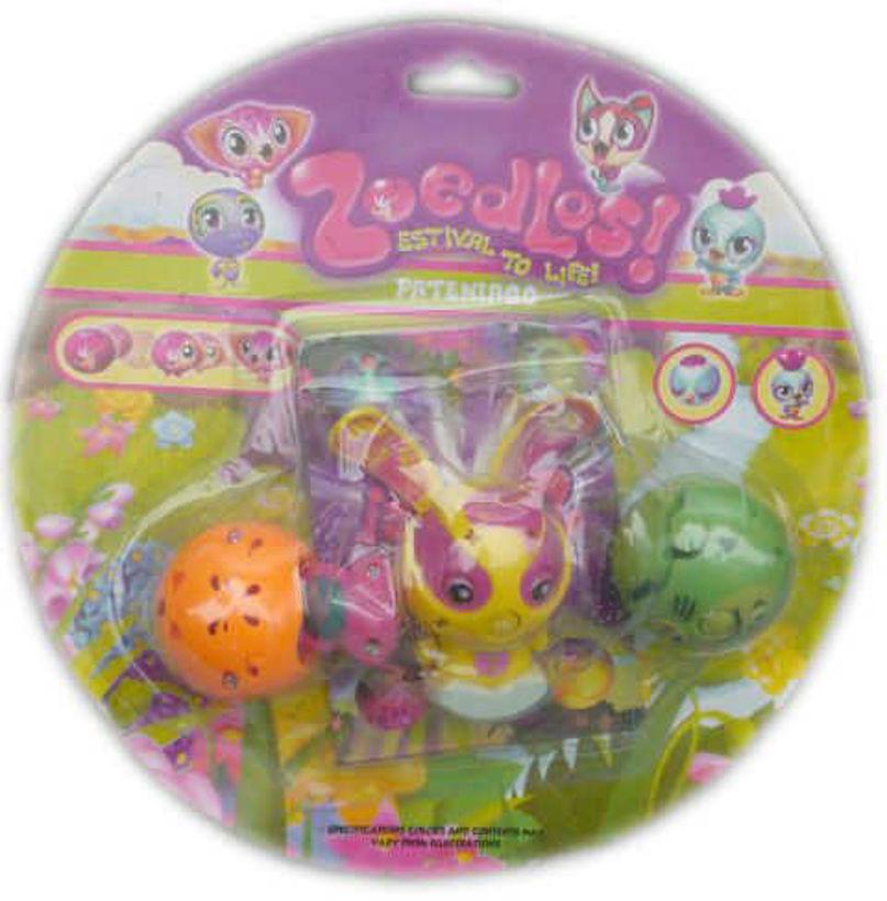 Детска играчка Зубълс Zoobles 3 броя с карти