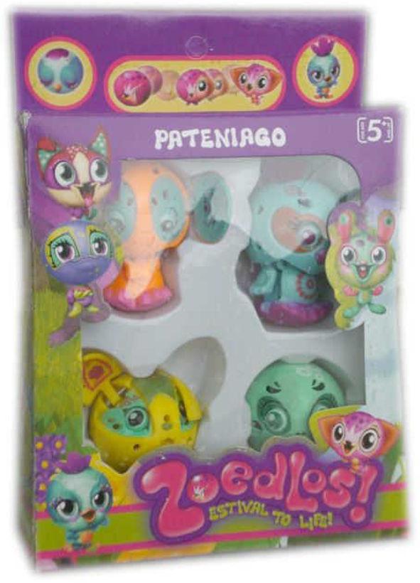 Детска играчка Зубълс Zoobles 4 броя