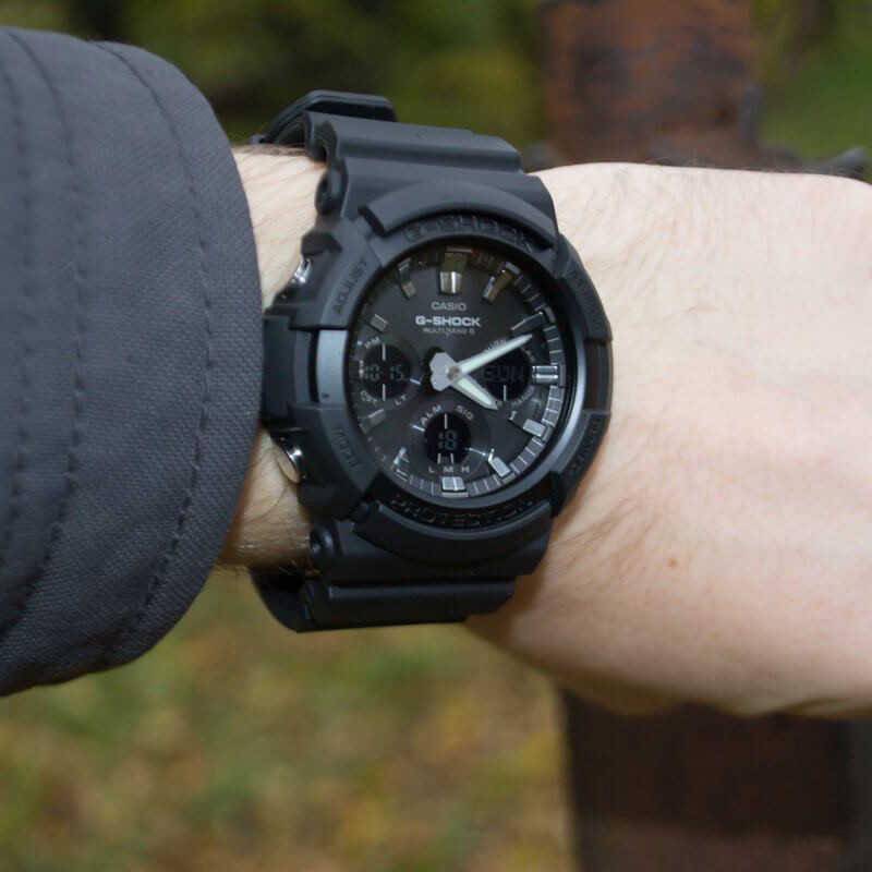 Мъжки Часовник Casio G-Shock GAW-100B-1AER