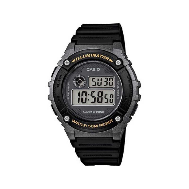 Мъжки Часовник Casio W-216H-1BVEF