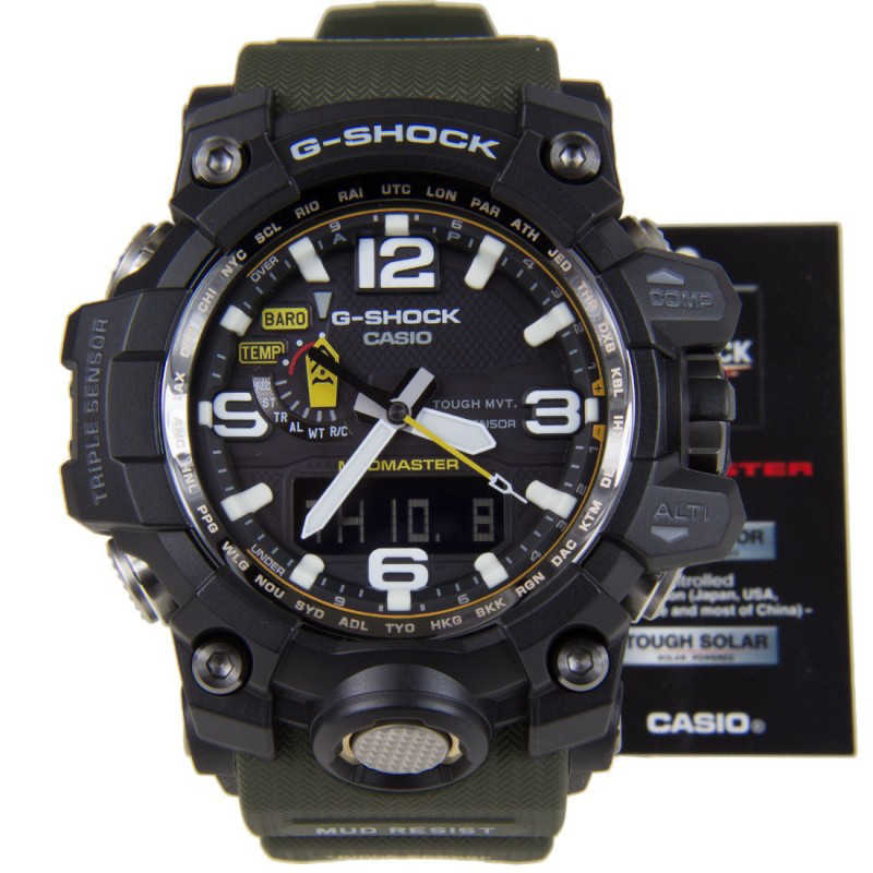 Мъжки Часовник Casio G-Shock Mudmaster GWG-1000-1A3ER