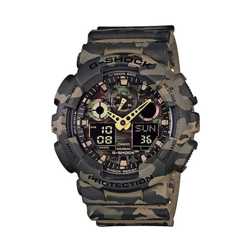 Мъжки Часовник Casio G-Shock GA-100CM-5AER