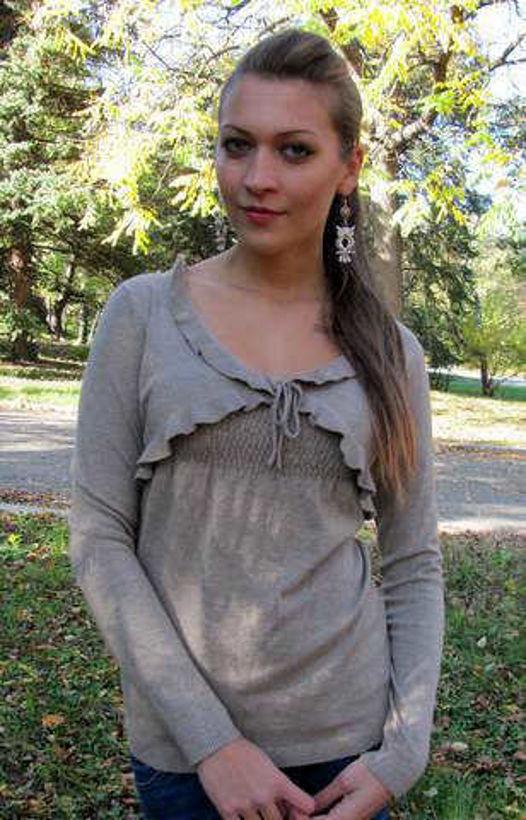 Блуза фино плетена имитация на болеро