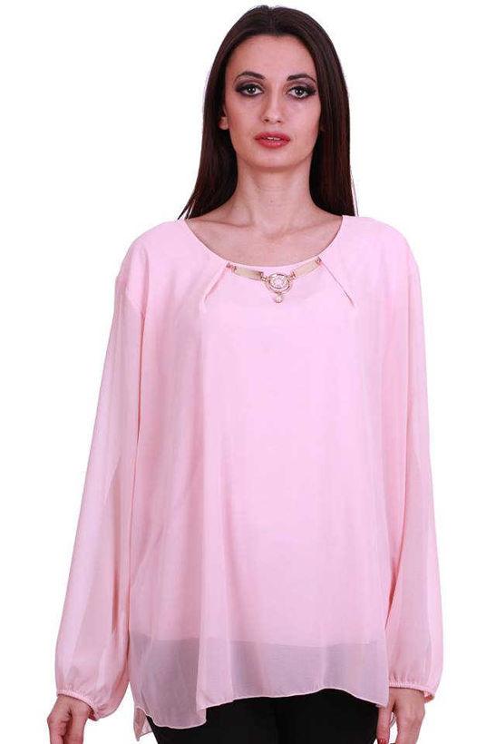 Блузка Julia XXL официална розова