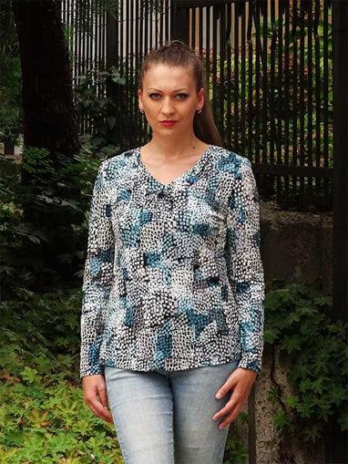 Блузка с дълъг ръкав Моника на Armand Thiery Франция