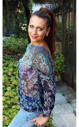 Дамска блузка от шифон на Massimo Dutti