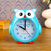 Детски настолен часовник бухал будилник