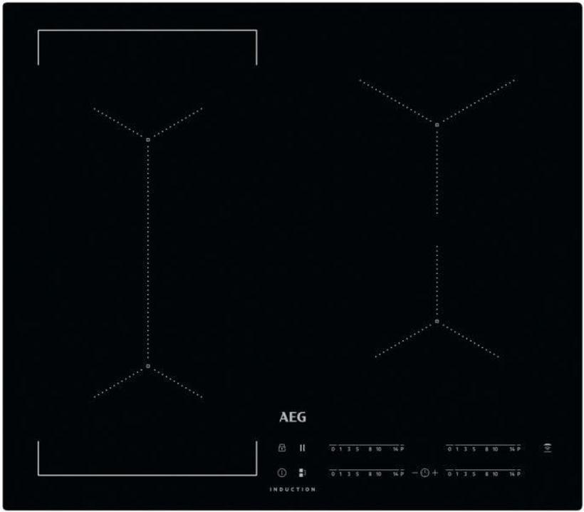 Индукционен плот за равен монтаж AEG - IKE64441IB