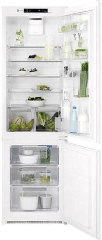 Хладилник с фризер за вграждане Electrolux - ENN2874CFW