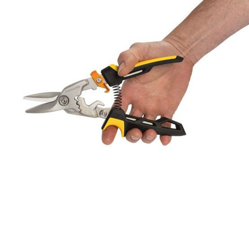 Ножица за ламарина с прави остриета PowerGear -  1027207
