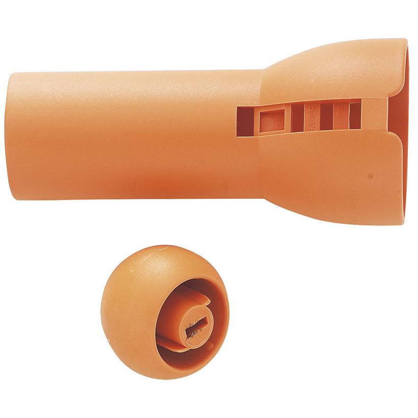 Плъзгаща се оранжева ръкохватка за универсална резачка за високи клони 115560 -  115565