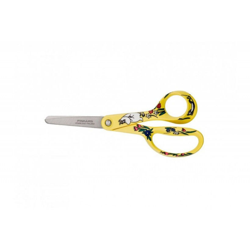 Универсална детска ножица Moomin жълт FISKARS - 1000844